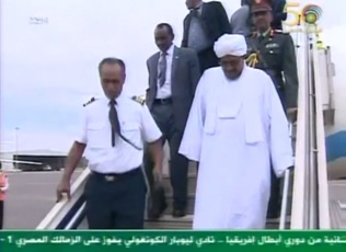 Saudi Arabia maintains silence over its decision to block Bashir's plane