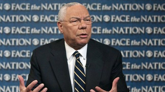 Colin Powell: US should back away from Syria