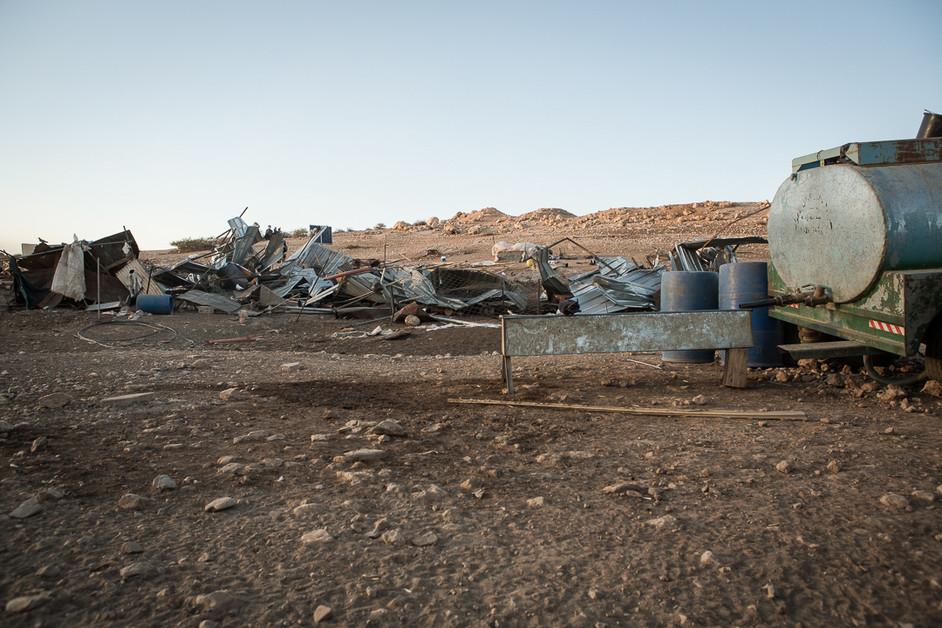 In photos: Israeli forces raze Jordan Valley community