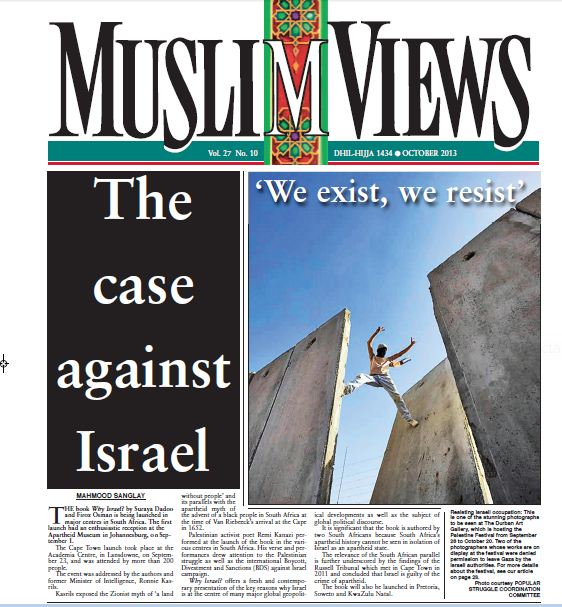 Muslim Views Front page2
