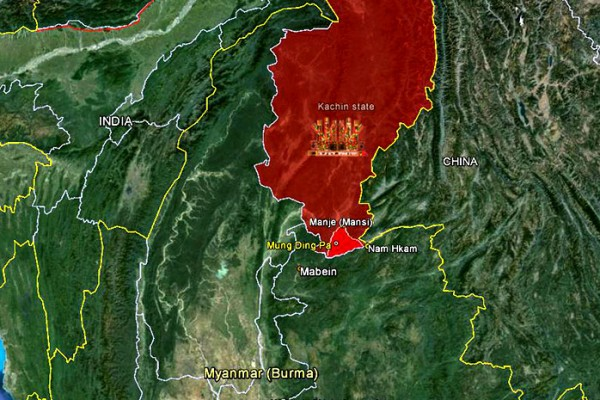 Burma army attacks IDP camps as offensive continues in southern Kachin state