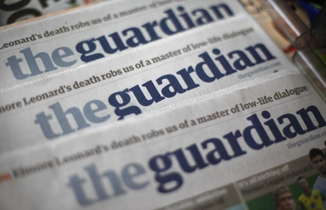 UK government uses parliament to accuse Guardian newspaper of treason