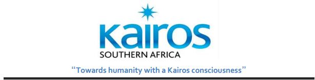 Kairos Southern Africa presentation made at the Parliamentary Solidarity Conference in support of the People of Cuba, Western Sahara and Palestine