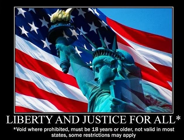 """Liberty"" and ""Justice""? For Some…"