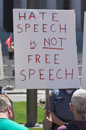 French freedom of speech a myth