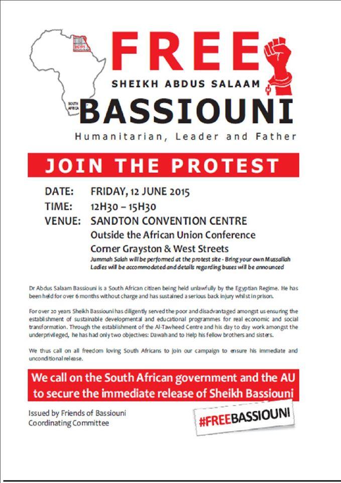 #FreeBassiouni pamphlet