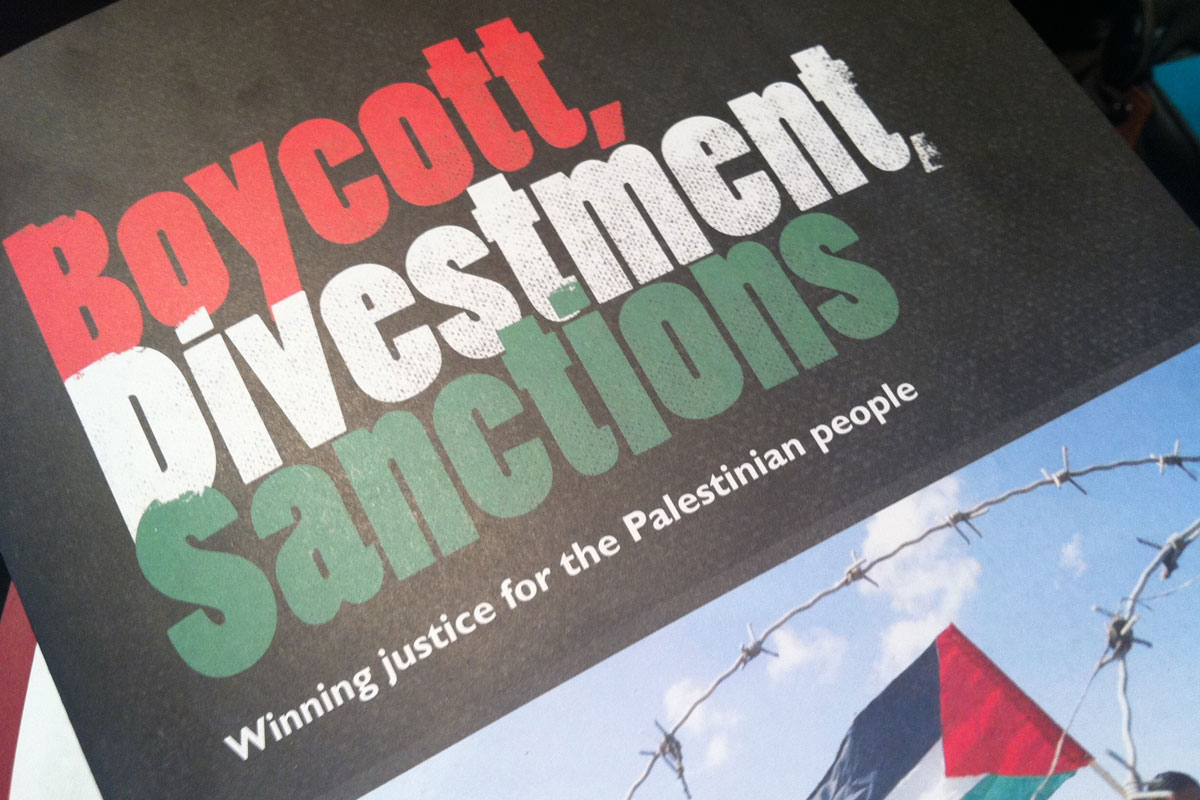On intimidation and counter-BDS efforts