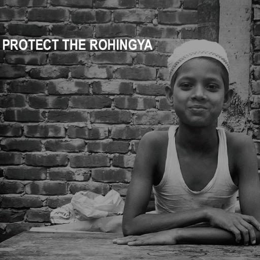#Black4Rohingya