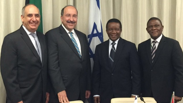What is the ANC's position on Palestine