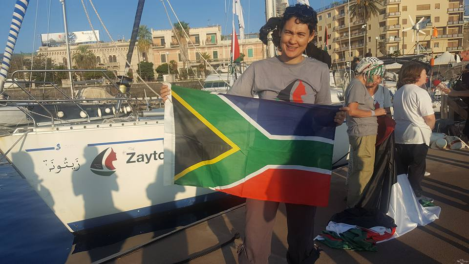 Diary of SA Olympian Leigh-Ann Naidoo on The Women's Boat to Gaza: Day 8