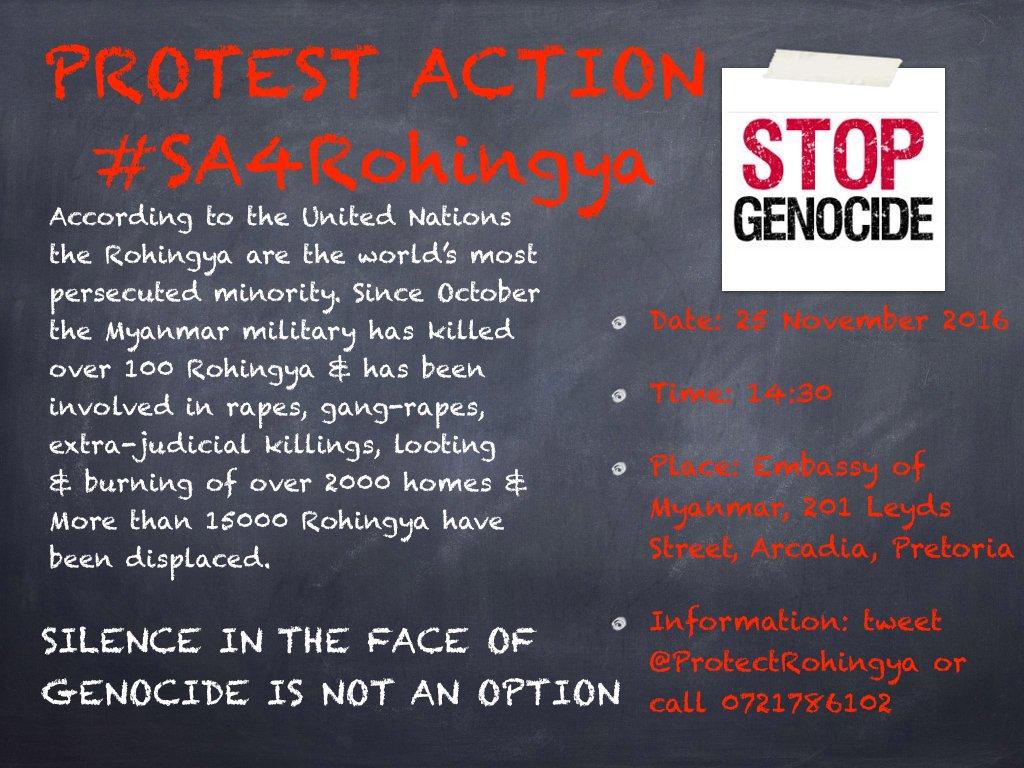 Halt Genocide Of Rohingya