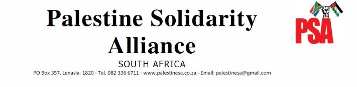 Palestine Solidarity Alliance (PSA) Press Statement – Trumps Illegal Capture Of Jerusalem