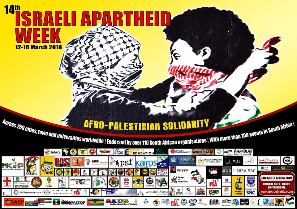 Israeli Apartheid Week draws attention to African and Palestinian Refugees