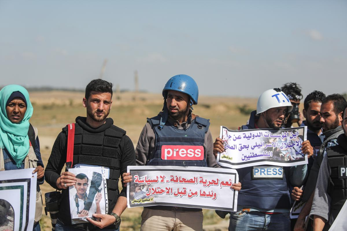 Targeted Killing of Journalists by Israel During #GreatMarchOfReturn Exposes Colonial Brutes