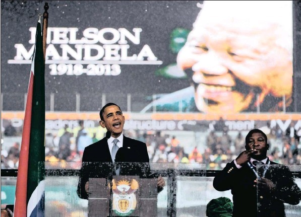 Obama: antithesis to Madiba's legacy