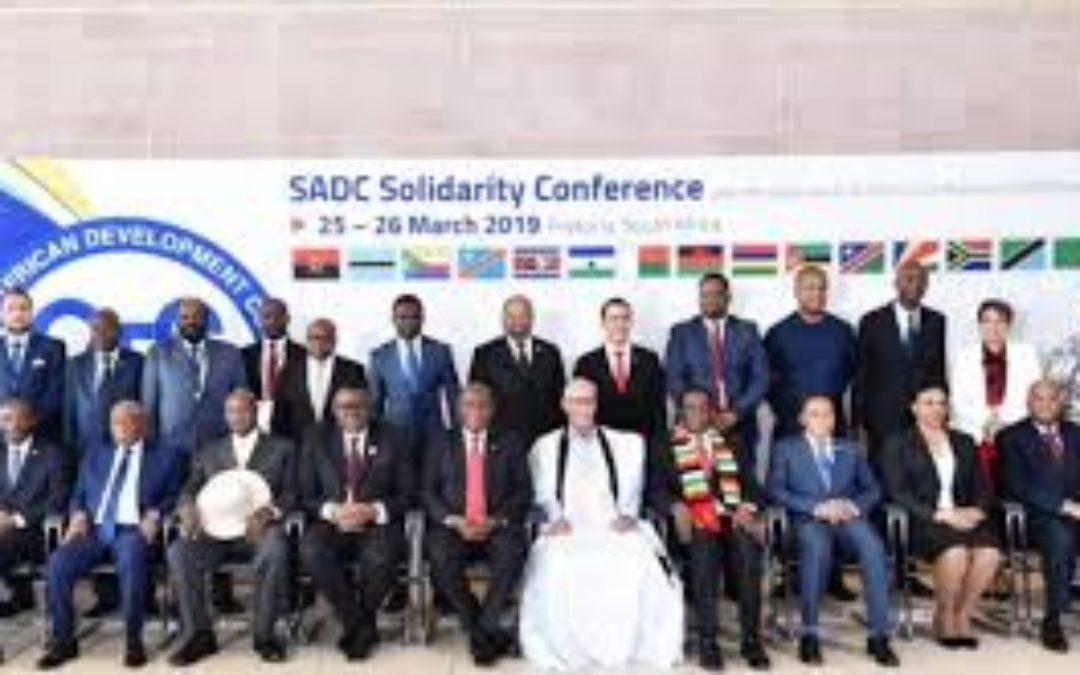 SADC REVIVES ITS COMMITMENT FOR WESTERN SAHARA'S UHURU