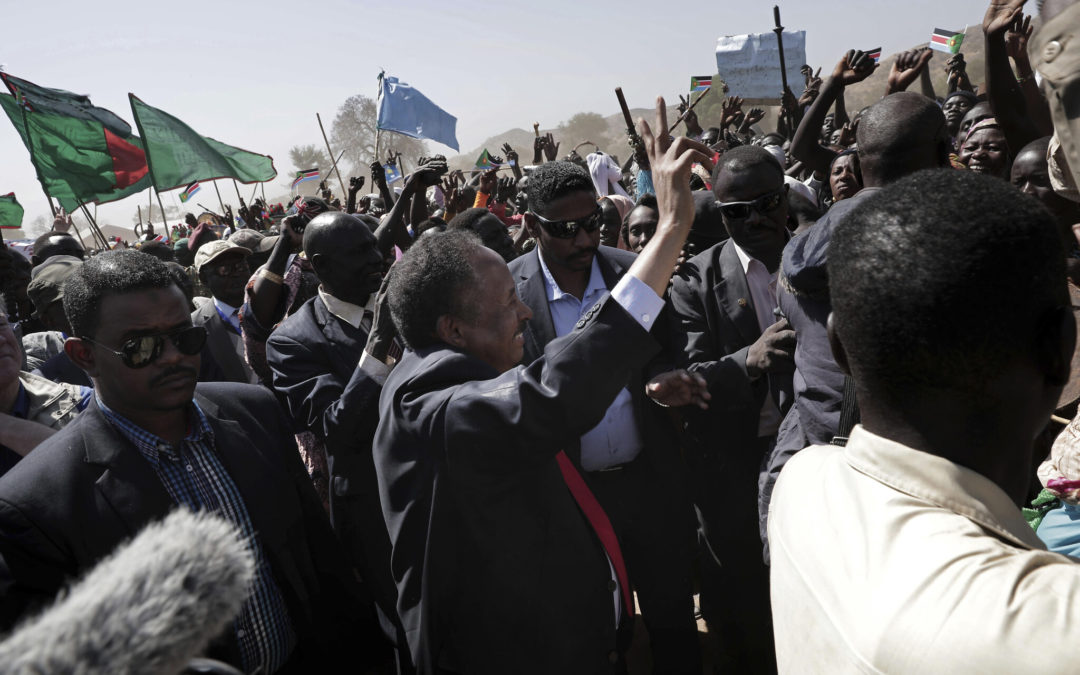 SUDAN COURTING DANGER.