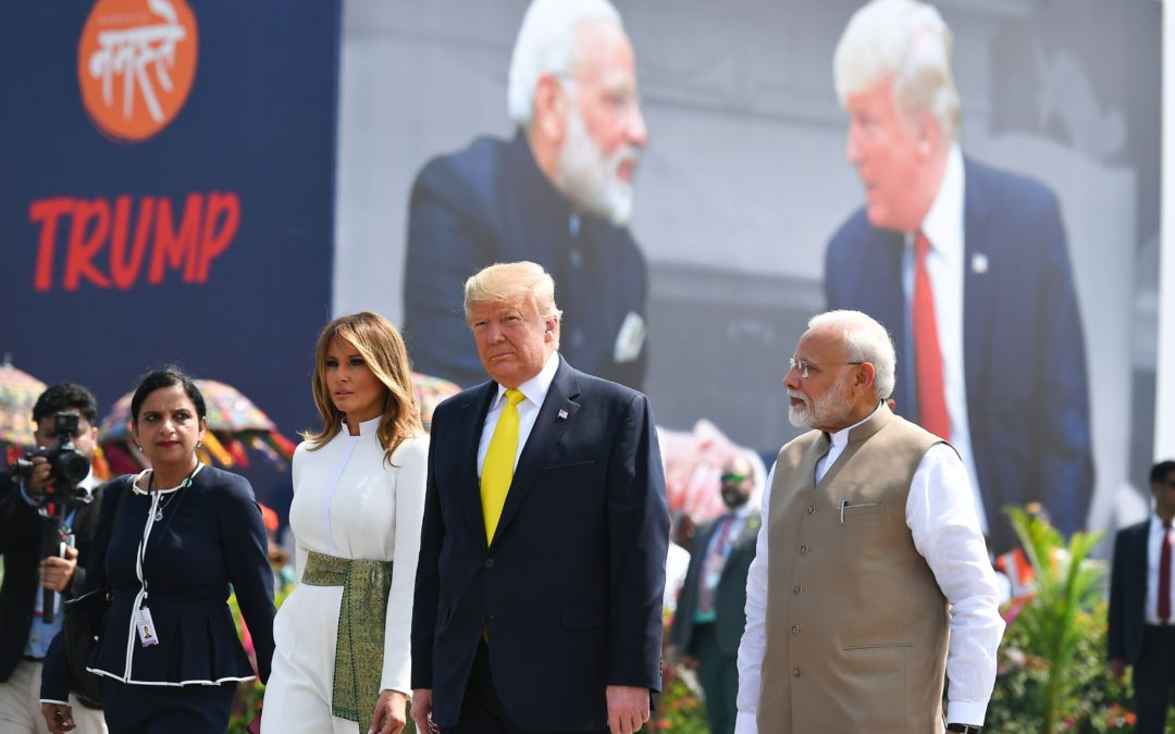 TRUMP'S BIGOTRY EXPOSED ON VISIT TO INDIA