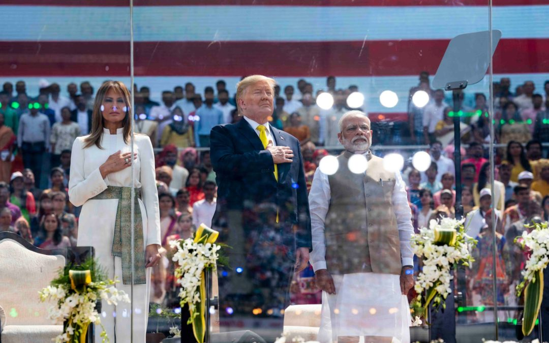 MODI'S INFERNO BLAZES IN THE FACE OF INTERNATIONAL SILENCE.