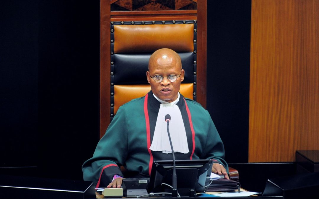 Chief Justice  Mogoeng Mogoeng Defends Apartheid Israel.