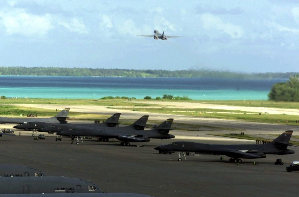 Tug of War over British colonised Chagos Islands — US Military Base in Occupied Diego Garcia part of Storm.