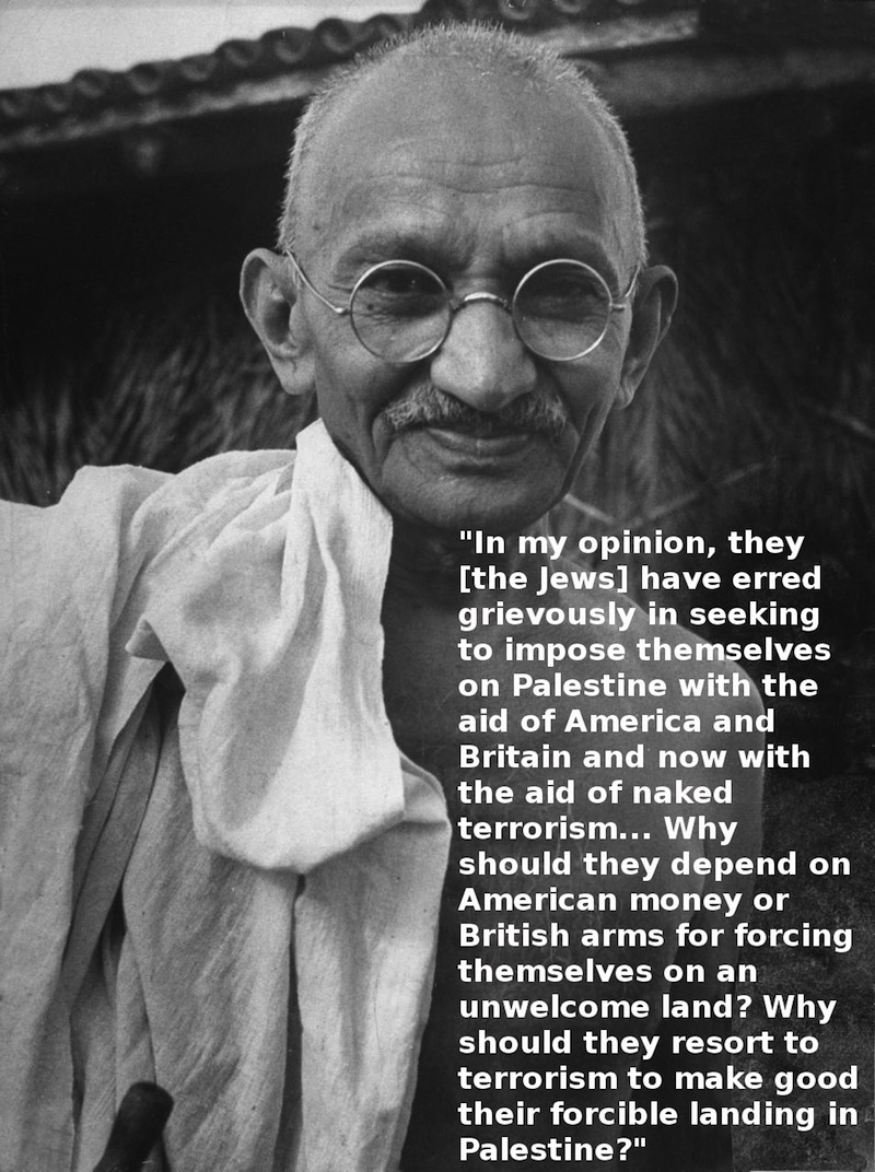 Gandhi and Zionism