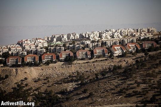 Recommended sanctions against Israeli settlements