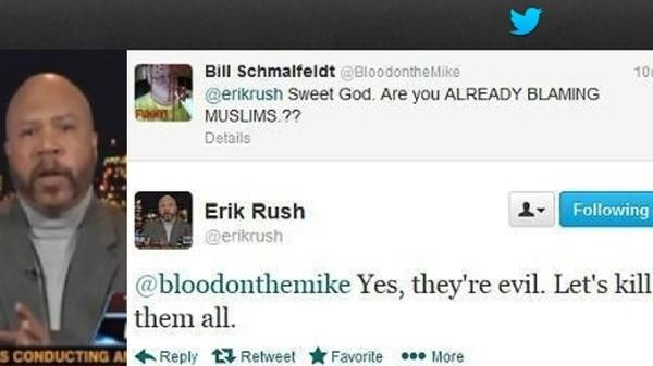 'Kill all Muslims': 'Sarcastic' tweet